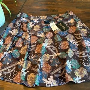 Hot Topic Harry Potter skirt